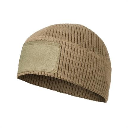 Čepice RANGE Beanie Cap® - Grid Fleece - coyote brown